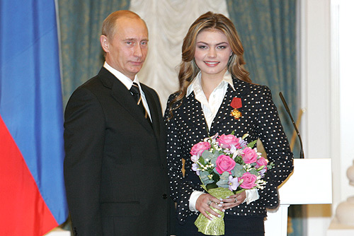 Top Hottest Politicians - Russia - Alina Kabaeva with Putin