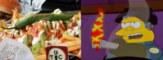 Simpsons Chili Comparison