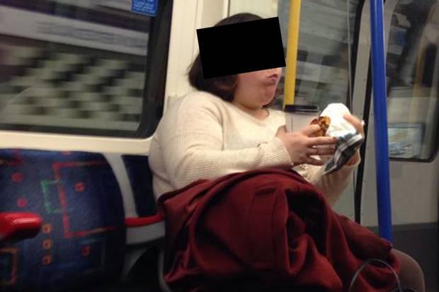Women Who Eat On Tube 1