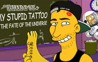 Kissy Sell Out's Astrophysics Lab: My Stupid Tattoo & The Fate Of The Universe