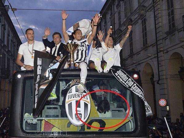 Andrea Pirlo Drunk Juventus Parade