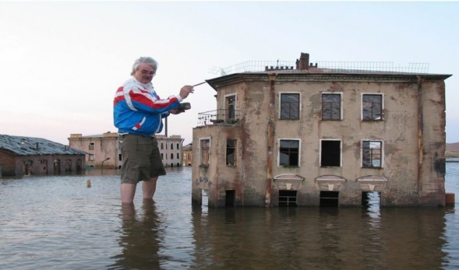 Awesome Phots Russia With Love - flooded town 2