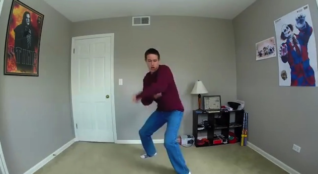 Awkward Napoleon Dynamite Dance Routine