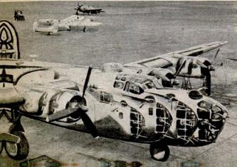 B-24 Mirror Dazzle Camo-Popular Mechanics Nov 1945