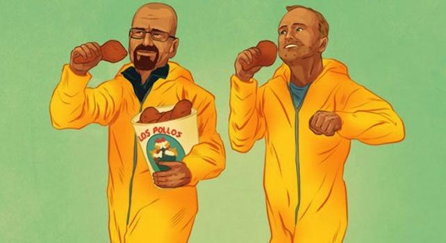 Buddy Movie Illustrations Featured