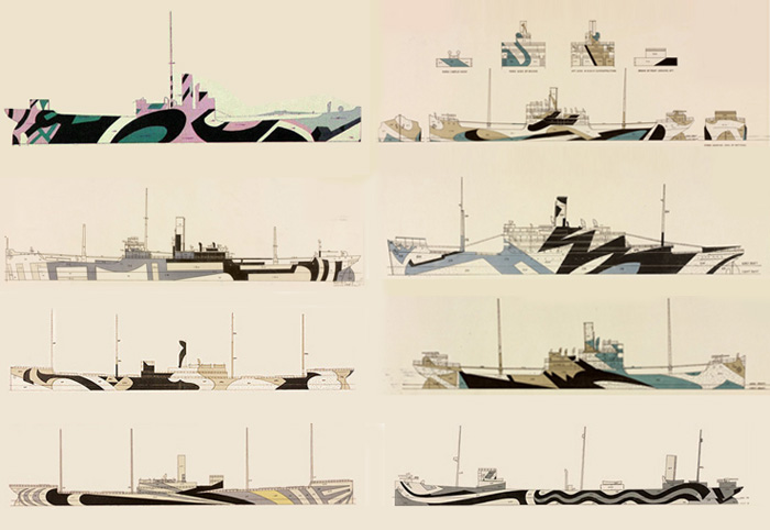 Dazzle+Ship+Drawings