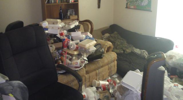 Grossest Room Ever
