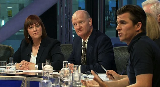 Joey Barton Question Time