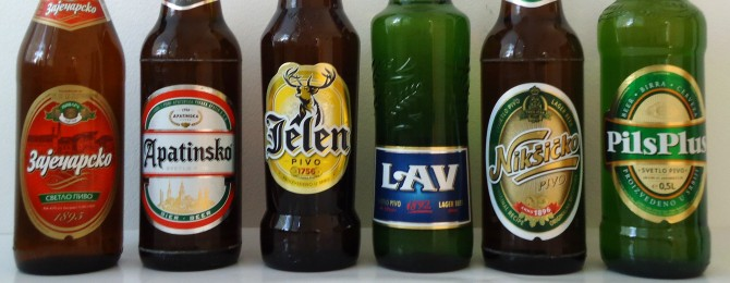 Learn Serbian - beer