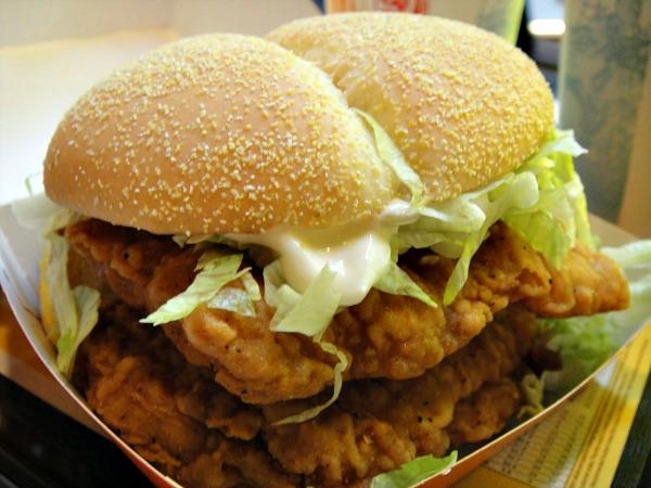McDonalds McChicken Sandwich