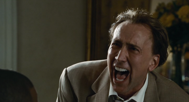 Nicolas Cage Laughing