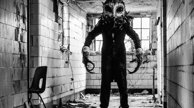 Owlman Terrifies Urban Explorers At Abandoned Hospital