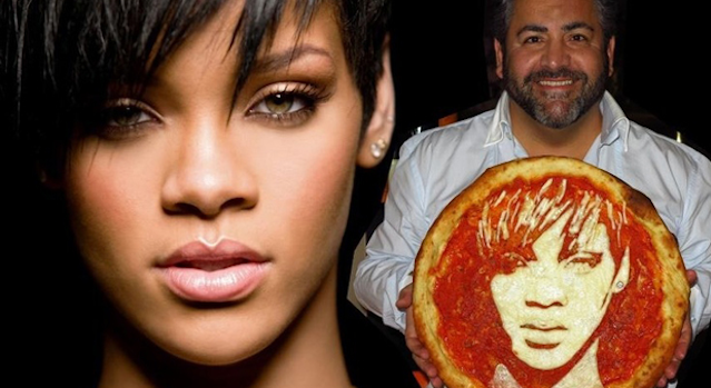 Pizza Artist Rihanna