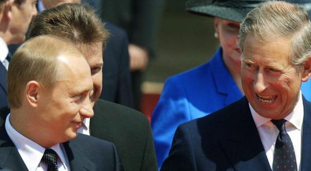 Prince Charles Vladimir Putin