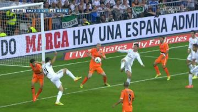 Ronaldo Backheel Volley Goal