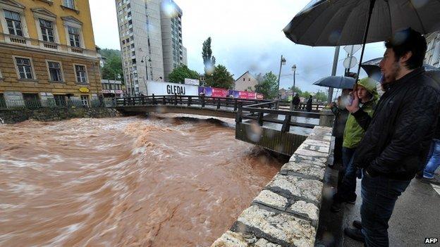 Serbia Bosnia Floods - worst