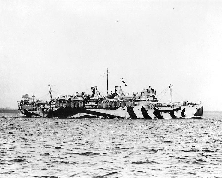 Siboney_underway_in_1918