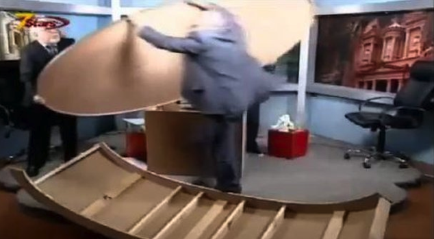 Syrian TV Debate Destroys Studio