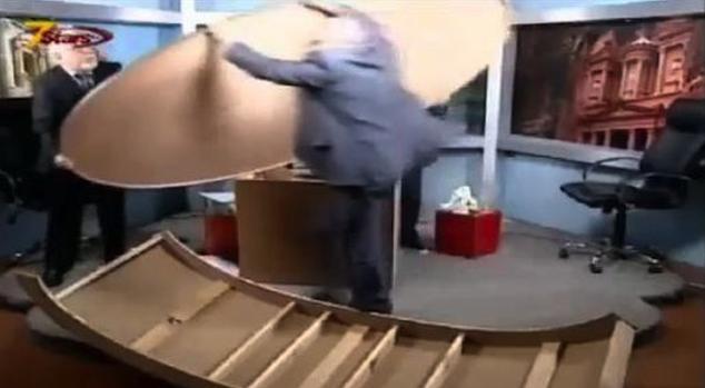 Syrian TV Debate Destroys Studio