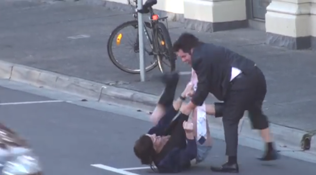 Transgendered Prostitute Beats Up Man Refused To Pay