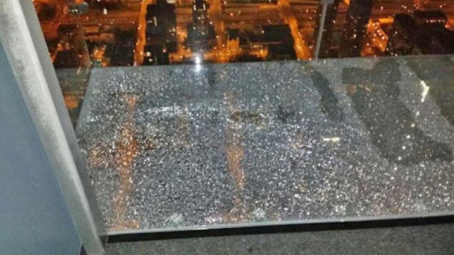 Unbreakable Glass Breaks