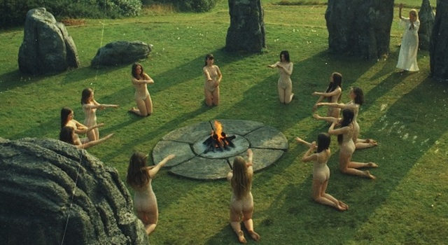 A Still From The Wicker Man