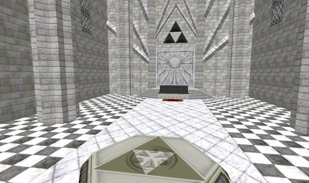 Zelda Original Temple Of Time