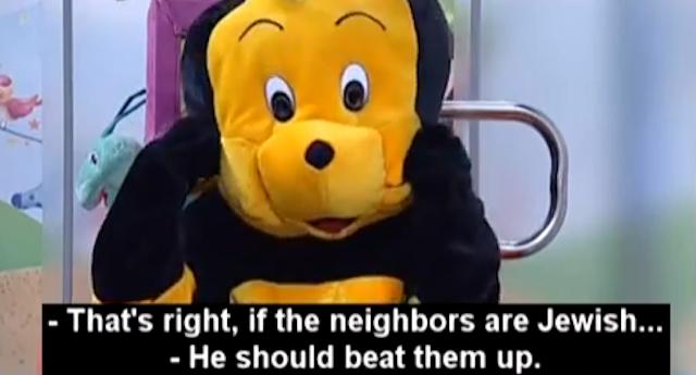 bumble bee kills jews