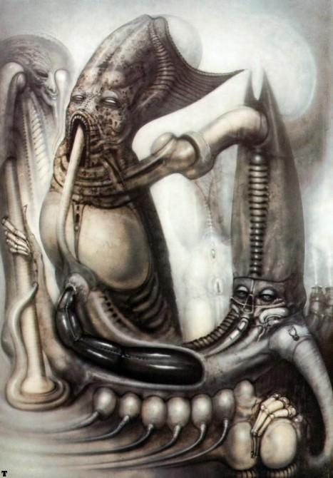 Rip H R  Giger  Surreal Goth Mastermind Dead At 74  U2013 Sick