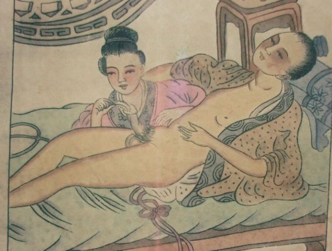 Ancient Chinese Erotica - 19th C