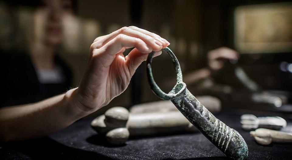 Ancient Chinese Erotica - dildo