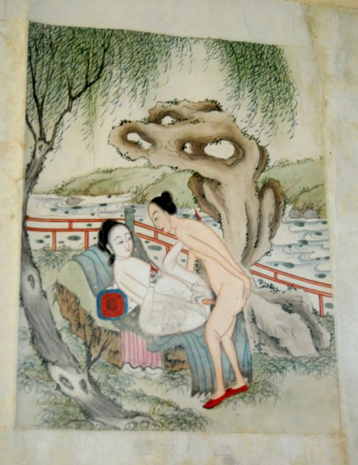 Ancient Chinese Erotica - erotic pillow book