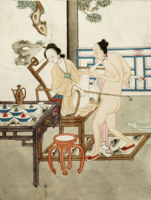 Ancient Chinese Erotica - happiness