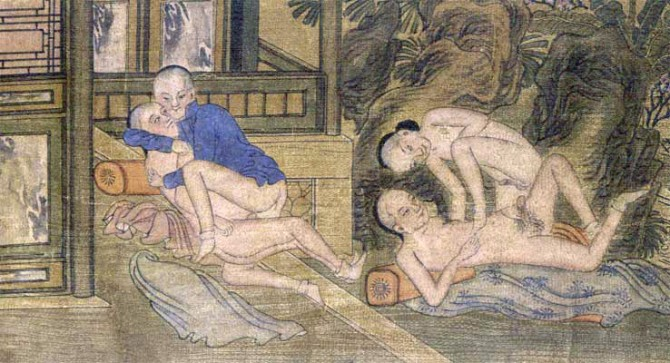 Ancient Chinese Erotica - late 19th C