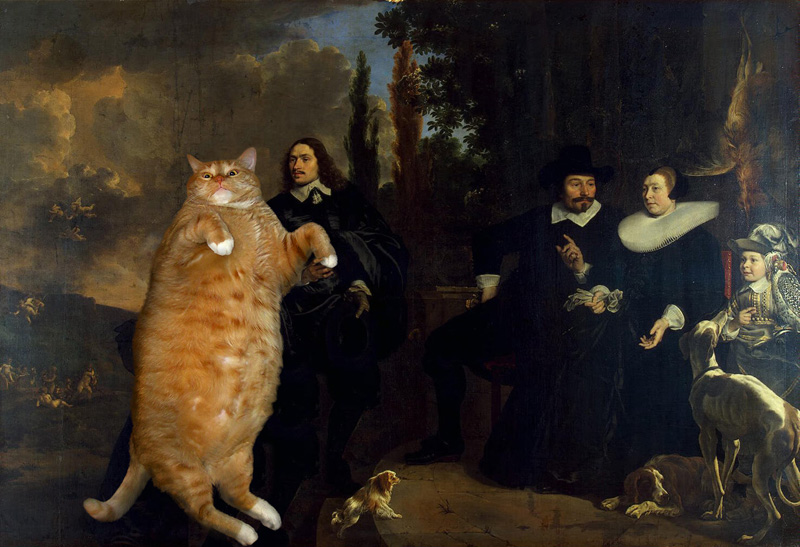 Art Improved By Fat Ginger Cat 20
