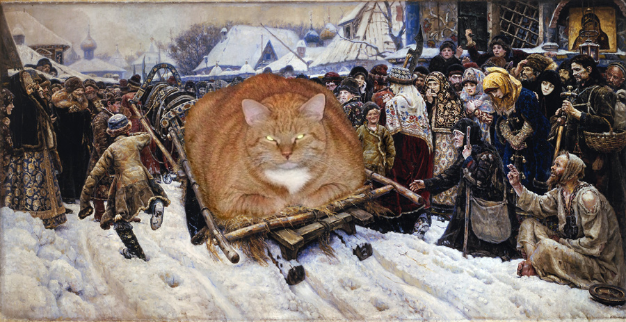 Art Improved By Fat Ginger Cat 50