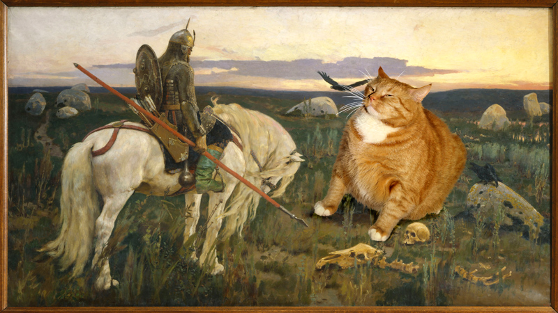 Art Improved By Fat Ginger Cat 52