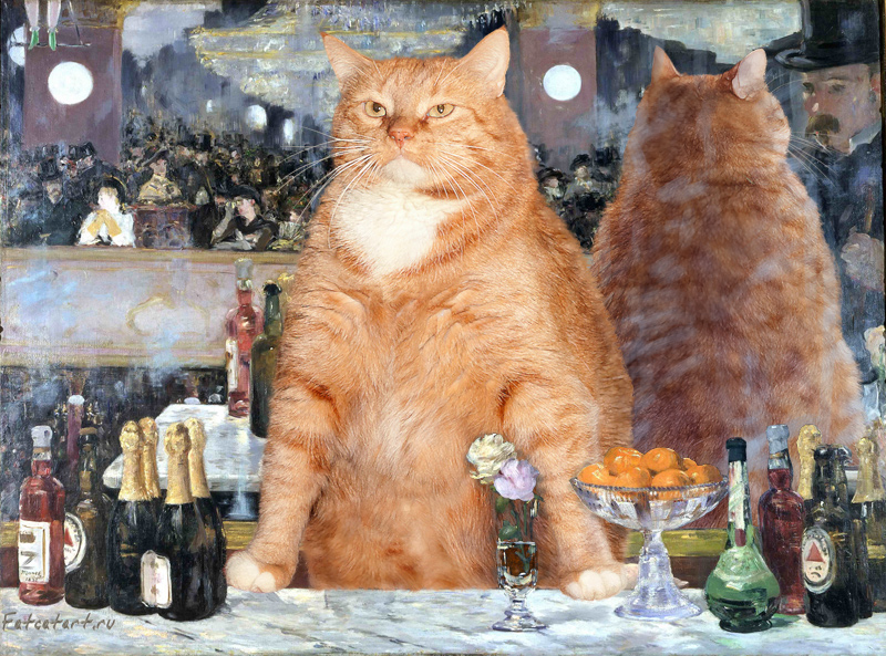 Art Improved By Fat Ginger Cat 58
