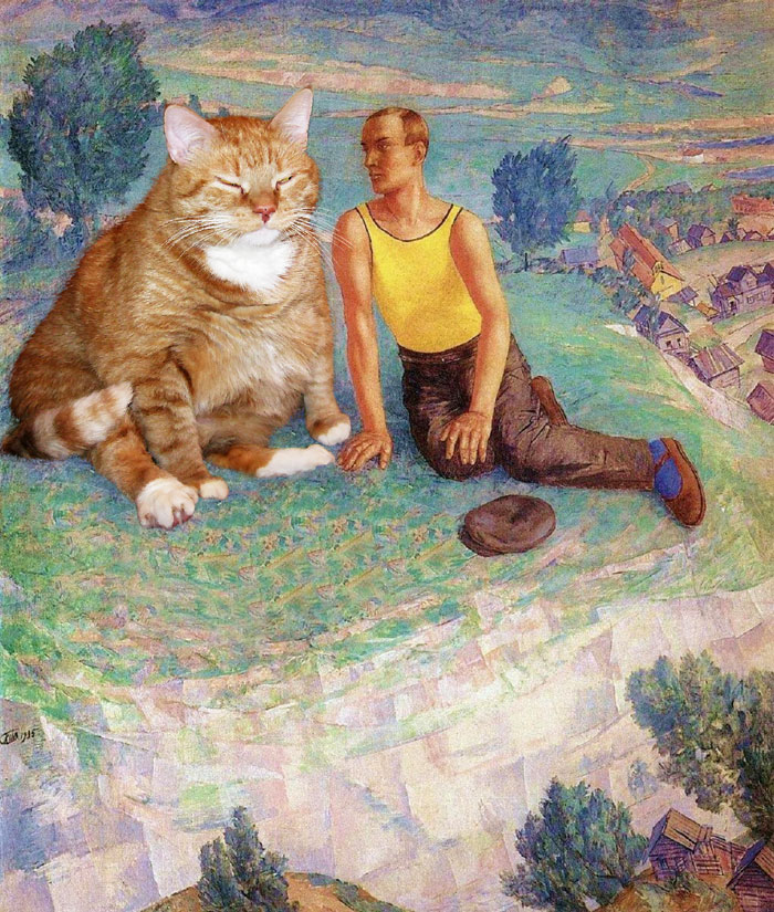 Art Improved By Fat Ginger Cat 66
