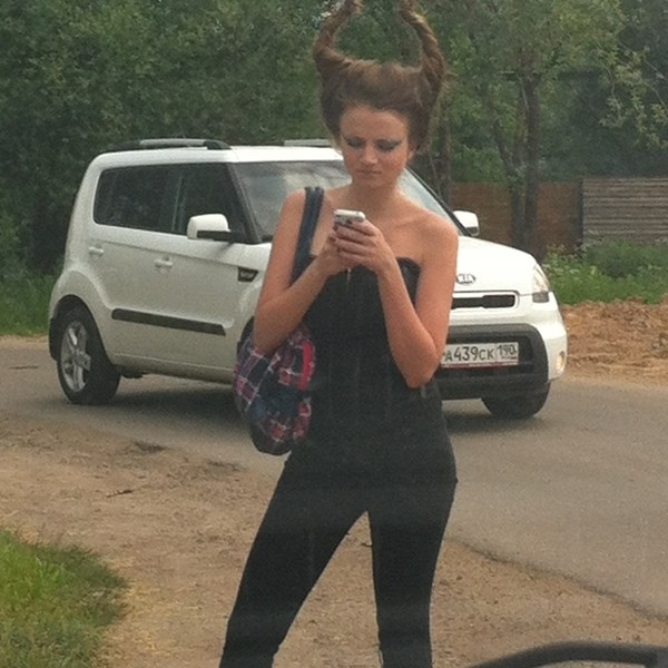 Awesome Photos From Russia With Love - demon hair