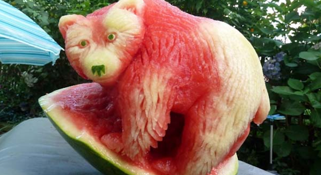 Awesome Watermelon Art