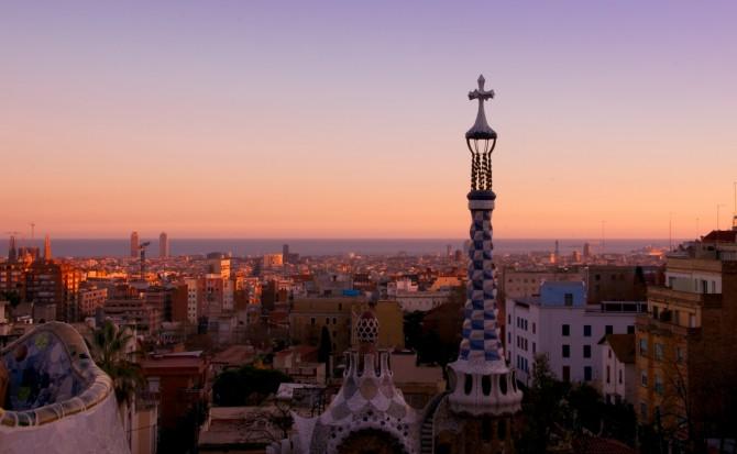 Best Sunsets Barcelona Spain