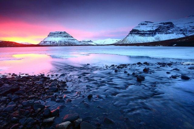 Best Sunsets Grundarfjordur Iceland