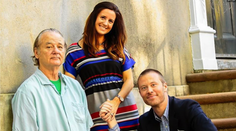 Bill Murray Engagement Picture Featured