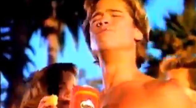 Brad Pitt Pringles Commercial