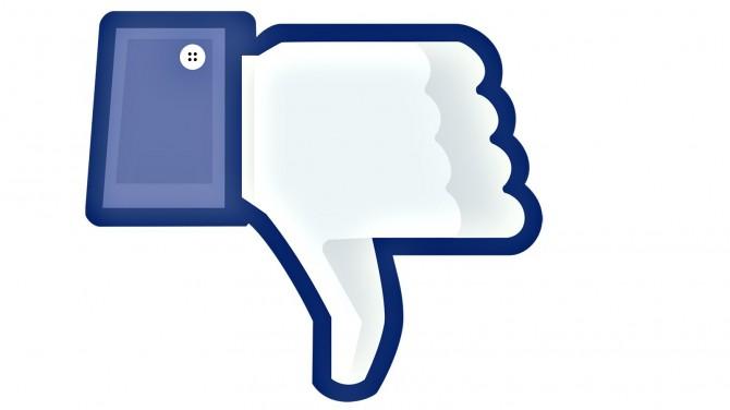 Facebook Experiment - dislike
