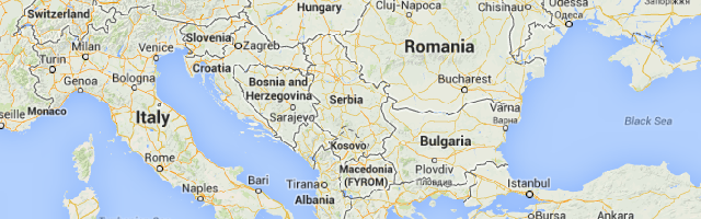 Facts About Serbia - Map