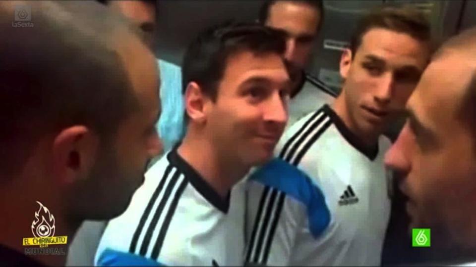 Fan Meets Entire Argentina Squad