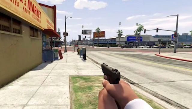 GTA V First Person