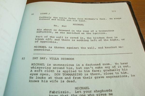 Godfather Script 11